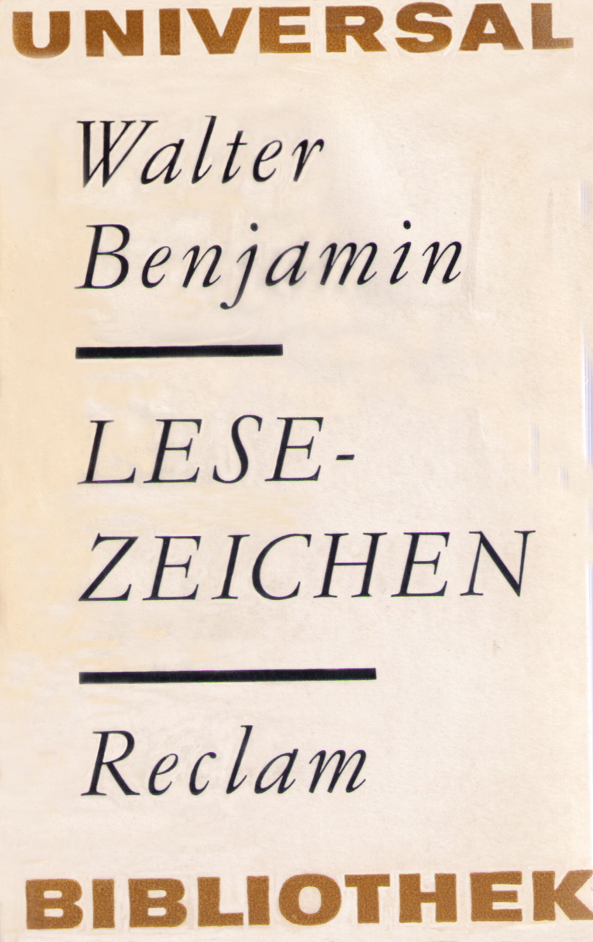 walter benjamin essay on collecting Two new books on walter benjamin that see the highest form of political thinking in the critique of political thinking itself.