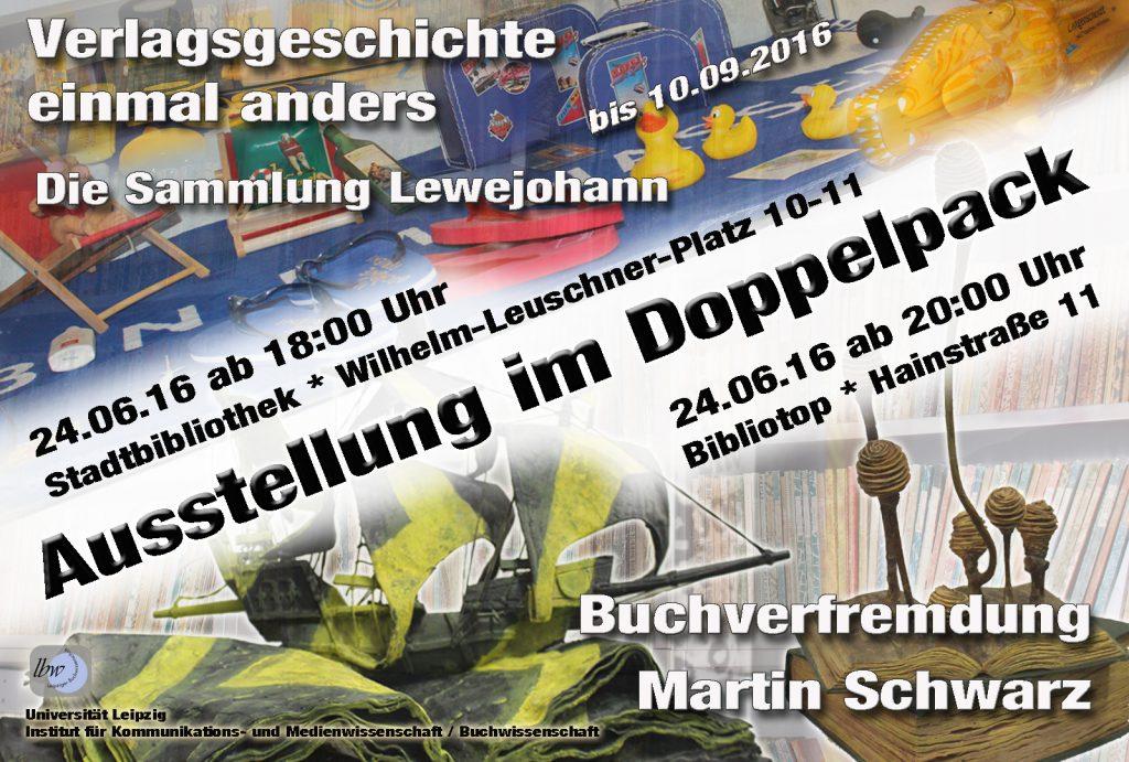 Ausstellung im Doppelpack
