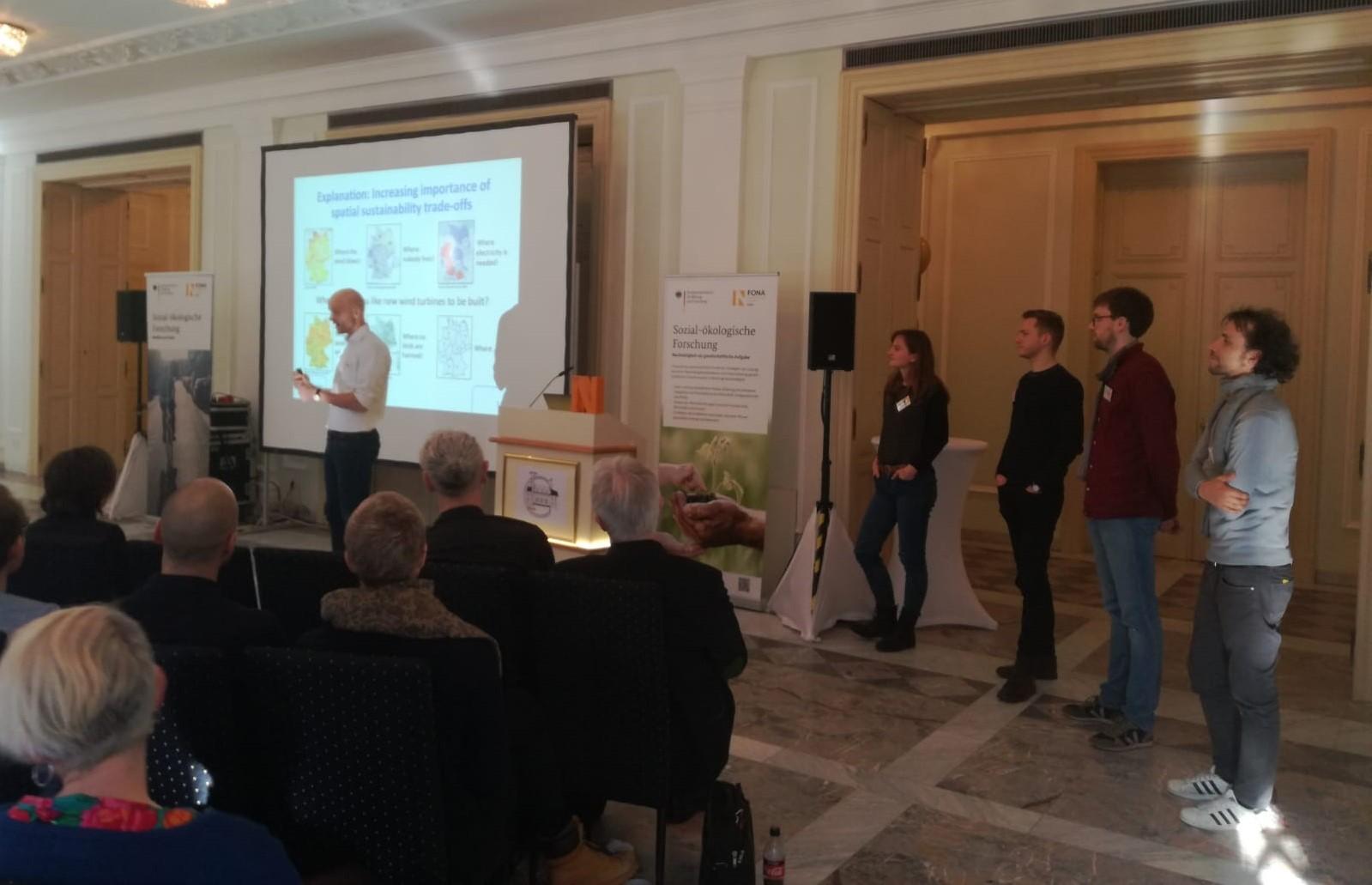 MultiplEE besucht Konferenz der Nachwuchsgruppen Sozial-ökologischer Forschung
