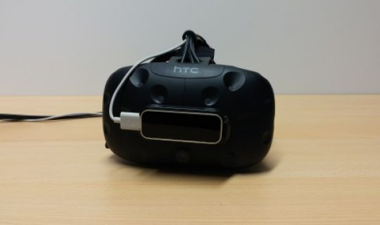 HTC Vive + Leap Motion