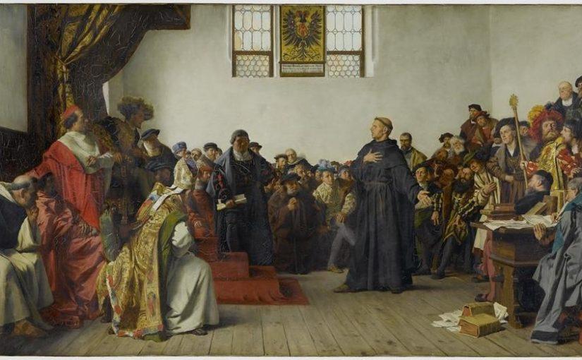"""""""Gott helfe mir …"""" Luthers Wormser Rede vor 500 Jahren"""