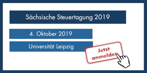 Sächsische Steuertagung 2019